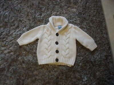baby boys Gap cardigan 3/6 months