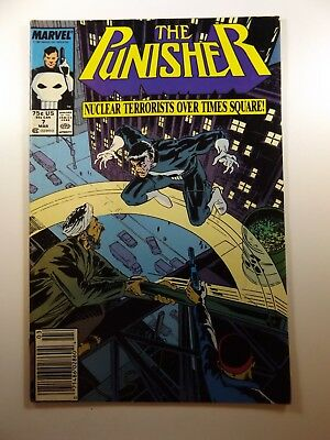The Punisher #7 '87 On-Going Series Beautiful VF Condition!!
