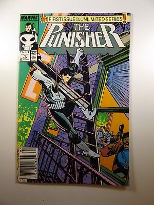 The Punisher #1 '87-Series Ongoing Series Beautiful VF-NM Condition!!