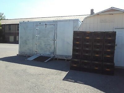 walk in freezer used 16 X 10 ft. commercial 3 phase