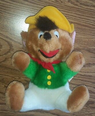 Vintage RARE 1971 Looney Tunes Speedy Gonzales Stuffed Animal Plush Toy