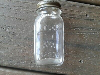 ATLAS H A MASON Miniature Bank With Slotted Lid