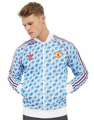 54f95435 MANCHESTER UNITED ADIDAS Class of 92 Away Shirt Jersey Track Top Jacket -  SMALL
