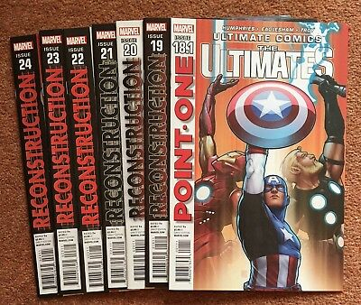 Ultimate Comics: The Ultimates #18.1-24 (7 Issue Lot, Marvel 2013) Humphries