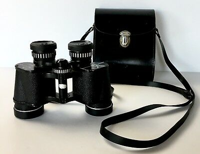 Taylor Binoculars 7x35 Fully Coated Optics Field 8 420 Ft @ 1000 Yards With Case