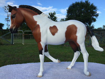 """Custom Marx 1:6 scale horse Pancho Pony Repaint for Jay West 12"""" action figures"""