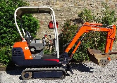 Mini Digger Plant Hire Rent 1.5t DELIVERY + FUEL