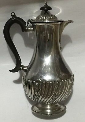 Mappin Brothers Silver Plate Coffee Pot Mid To Late 19th Century