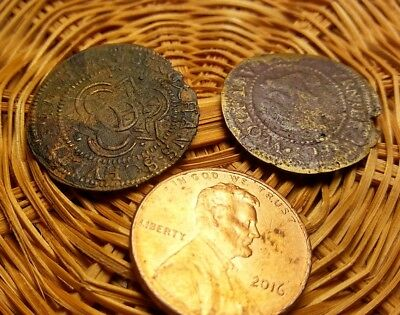 2 Medieval Coins #21 NO RESERVE