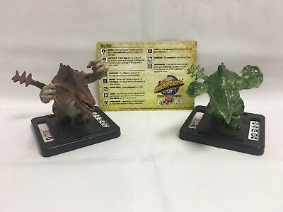 Monsterpocalypse Rakadon +Ultra Rakadon 43 + 44 Camp NY