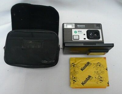 Vintage Dixons 5000 Telephoto Motor Drive Disc Camera Includes Unopened Film