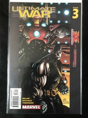 Ultimate War #3 (March 2003 Marvel Comics) The Ultimates vs Ultimate X-Men VF-NM