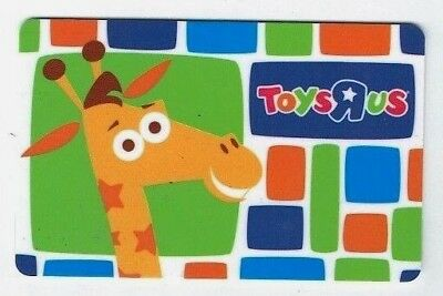 TOYS R US Gift Card - Geoffrey Giraffe - Collectible / No Cash Value ~ FREE SHIP