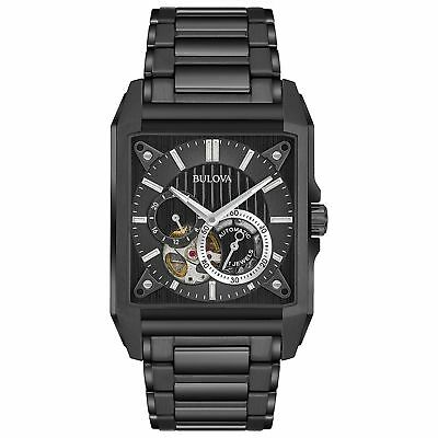 Bulova 98A180 Men's Automatic  Black Automatic Watch