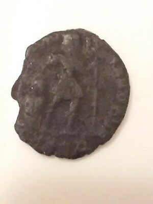 Ancient Authentic Bronze Roman Coin, Rare coin from 240 -410 AD