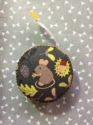 Mouse Retractable Small Tape Measure Handbag Sewing Knitting Quilting