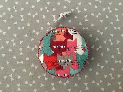 Cat Retractable Tape Measure Teachers Gift Sewing Knitting Crafts