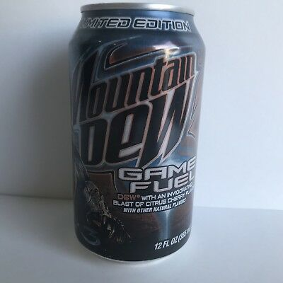 Halo 3 Mountain Dew Game Fuel Limited Edition Rare Full And Unopened!