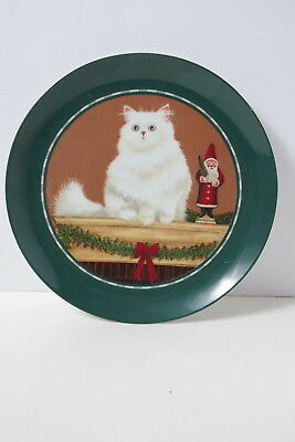 Vintage Lowell Herrero Kitty Collectable Plate Very Cute