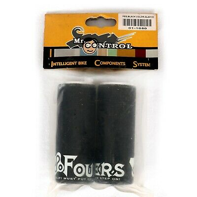 BMX Fouriers Stunt Pegs Black New