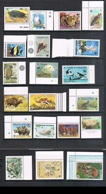 Cayman Islands beautiful animal stamps all MNH