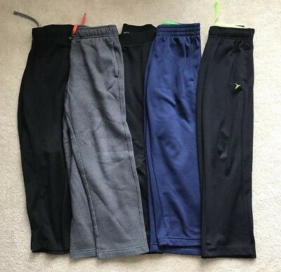 Boys Lot of 5 Pants Sweatpants Size 8