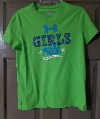 Under Armour YM Youth Medium Girl Graphic shirt