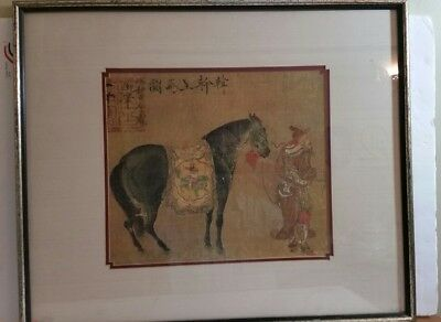 Vintage Signed Chinese Art on Vellum Paper