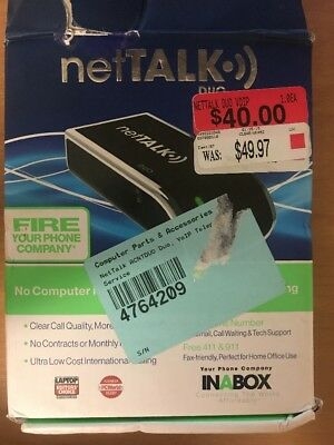 NetTalk Duo VoIP Home Phone Line Replacement - PLEASE READ
