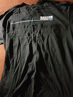 Barry Manilow One Night Live 2004 T-Shirt