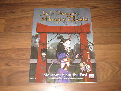 d20 Jade Dragons & Hungry Ghosts Monsters from the East SC Green Ronin 2001