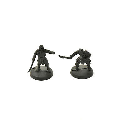 LOTR gorbag & shagrat converted METAL Games Workshop miniatures