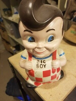 USED Vintage Big Boy Bank