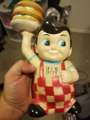 Vintage Big Boy Bank USED