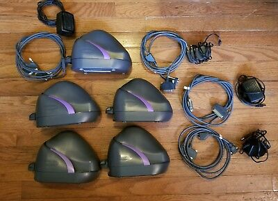 Lot of 5 MAGTEK MICR MICRIMAGE RS232 CHECK SCANNER/READER P/N: 22410002 REV-AA