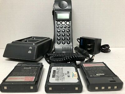 Vintage NEC TR5E800-21A Mobile Cellular Phone Brick Chargers Power Supply Works