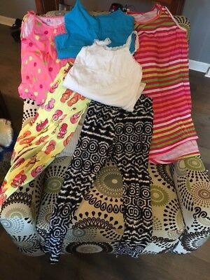 Lot of girl's size 12 and 14 gently worn clothes, most are LIKE NEW