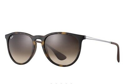 Ray-Ban Erika Classic RB4171 865/13 54 Tortoise Shiny Brown Sunglasses