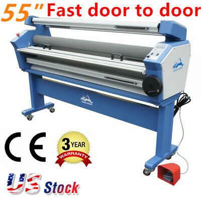 "US Stock - Upgraded Ving 55"" Full-auto Low Temp Wide Format Cold Laminator"