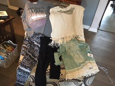 Lot Girl's size 14 and XL clothes, 5 pieces, most NEW, Fab Kids & more
