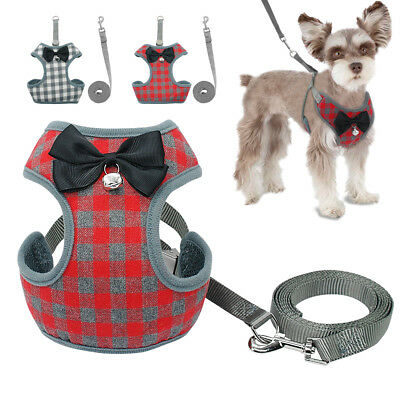 Mesh Padded Small Dog Harness and Leash Pet Puppy Vest for Dogs Chihuahua