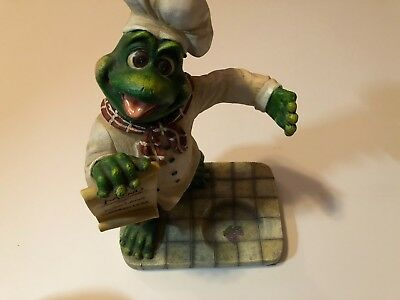 Chef Frog Figurine NEW