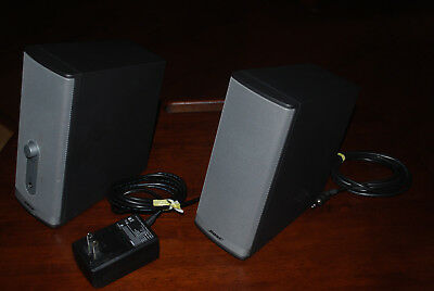 Bose Companion 2 Series II Computer Speakers - Excellent condition