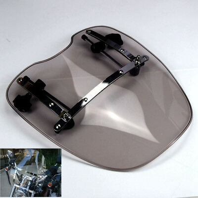 Smoke Windscreen Windshield For Harley Fatbob Forty Eight Night Train Breakout