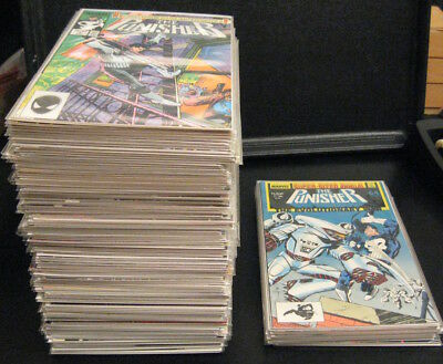 Wow! THE PUNISHER (Vol. 2, 1986) #1-104 + ANNUALS 1-7 COMPLETE! (VF/NM) & (NM-)