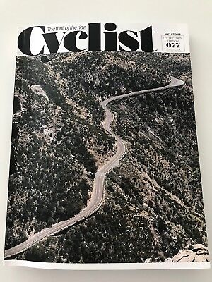 Collector's Edition UK Cyclist Magazine Issue 77 August 2018 Rising Arizona Ride