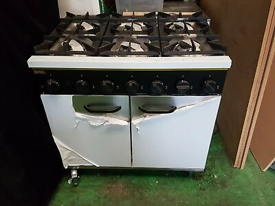 Buffalo propain gas oven with casters