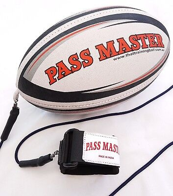 Rugby Training Ball MOD Size Football Pass Master Rugby Trainer