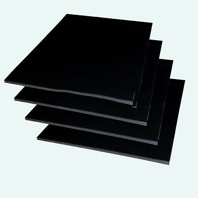 Hdpe Sheet 6Mm Thick 420Mm X 297Mm A3 Size Black X 1 Piece