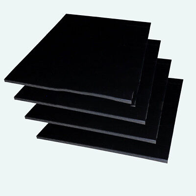 Hdpe Sheet 6Mm Thick 200Mm X 200Mm Black X 1 Piece